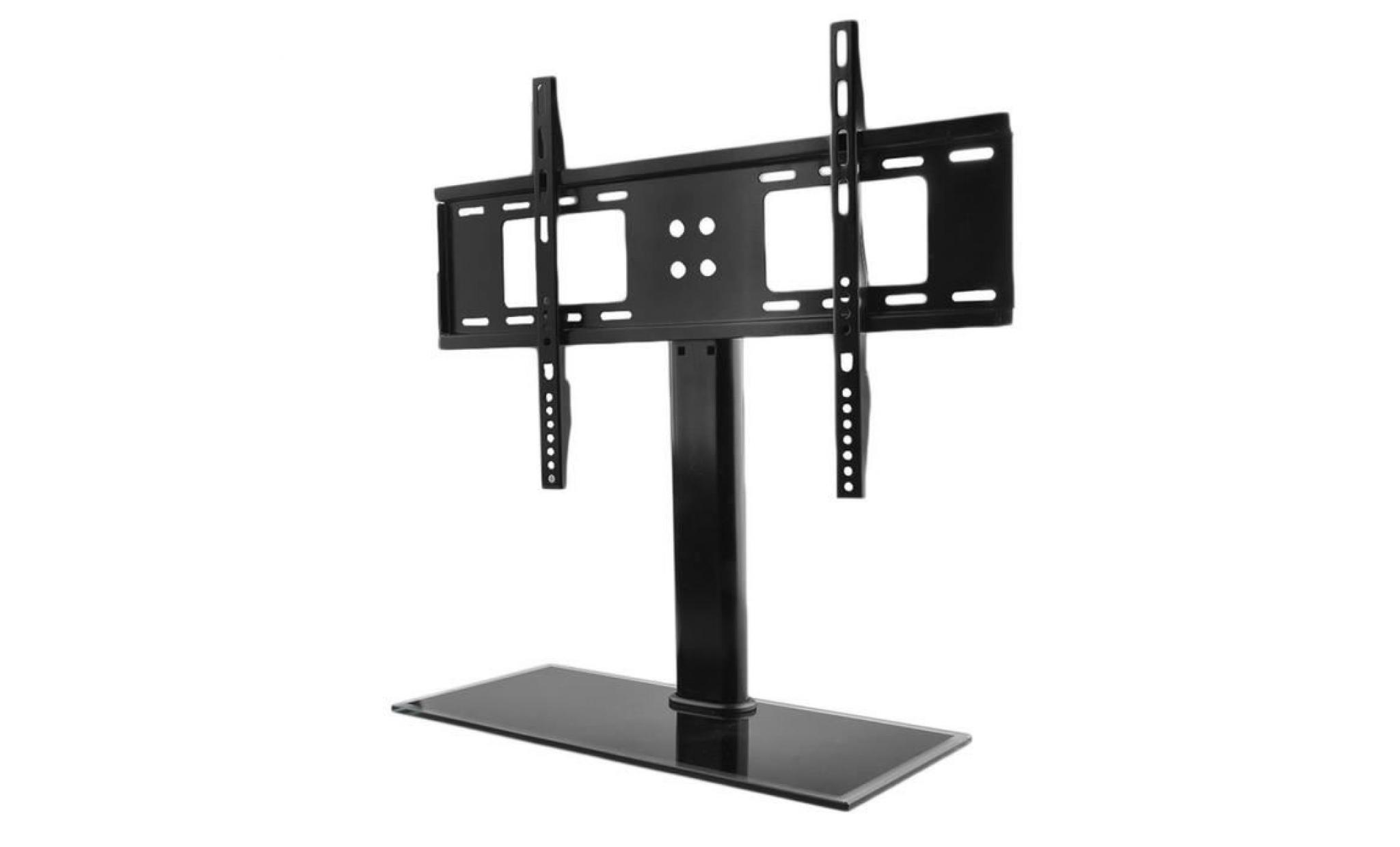meuble tv pieds a televiseur de 37 a 55 pouces achat vente meuble tv pas cher couleur et design fr