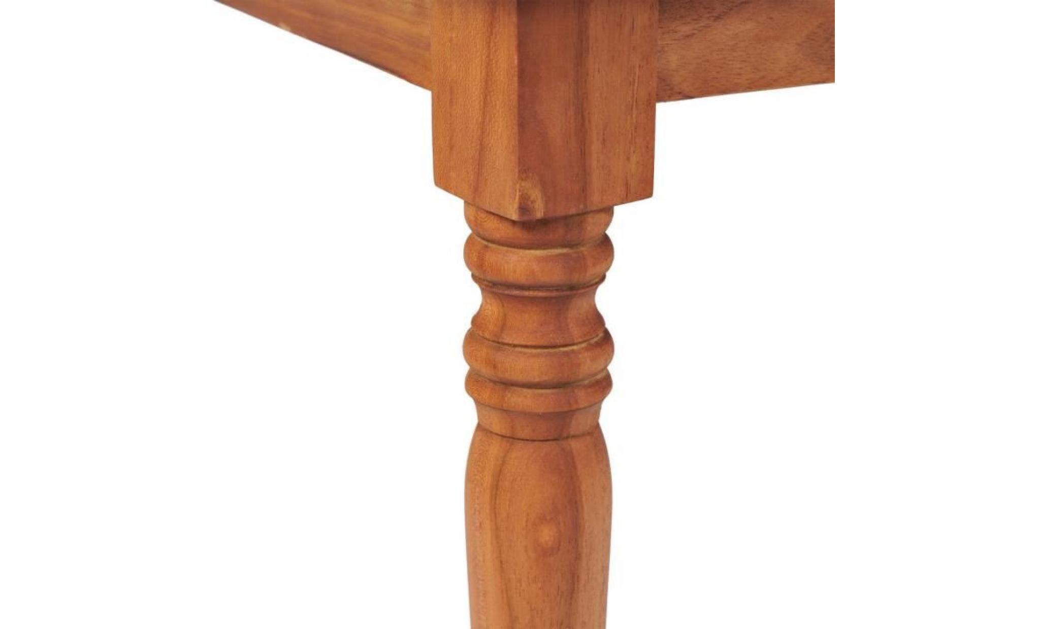 tables d exterieur table basse batavia teck 90 x 50 x 45 cm achat vente table basse pas cher couleur et design fr
