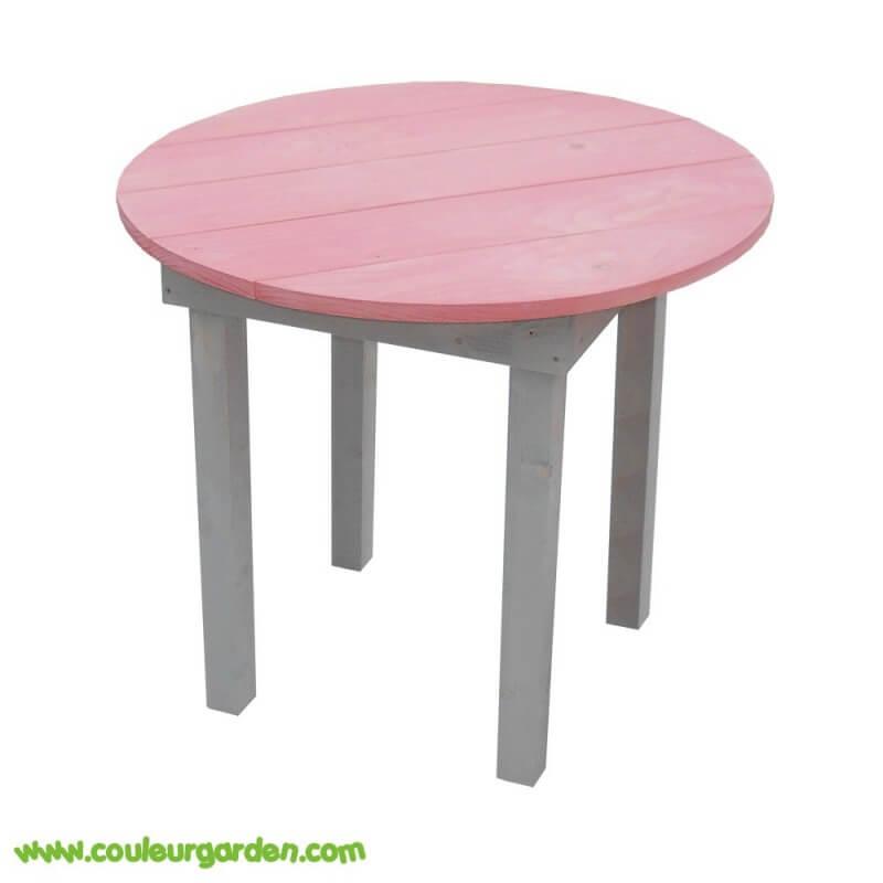 table ronde pour enfant en bois