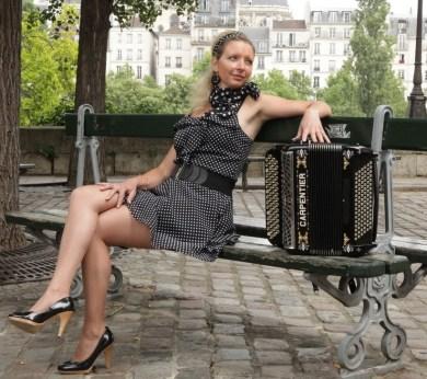 Delphine Lemoine - accordéoniste