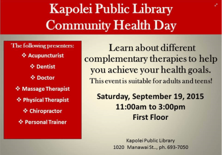 community health day