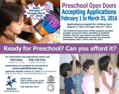 patch preschool