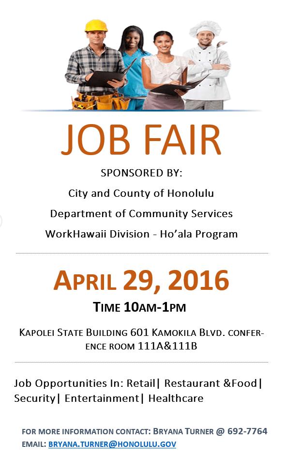 DCS job fair