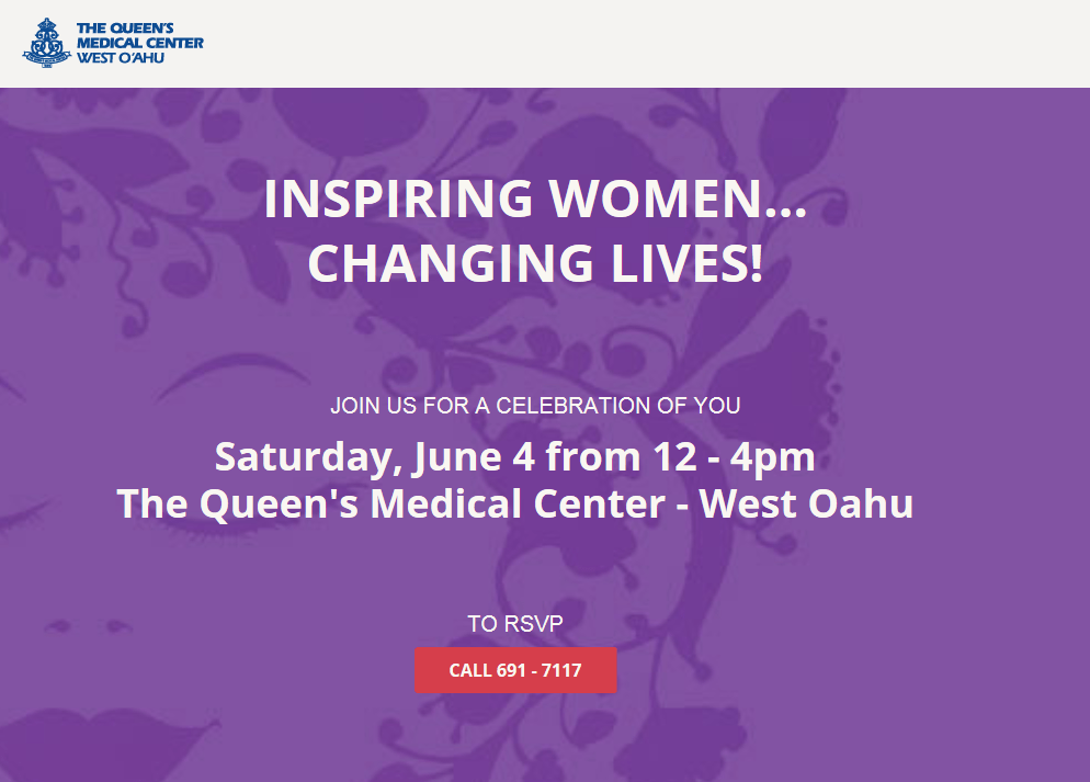 Queens Changing Womens Lives Event