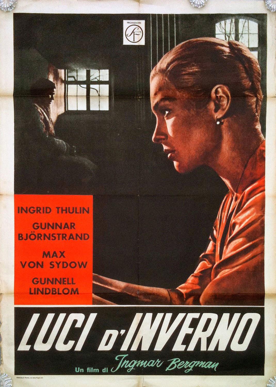 Luci d'inverno di Ingmar Bergman