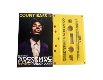 count bass d snoop dogg too much pressure cassingle