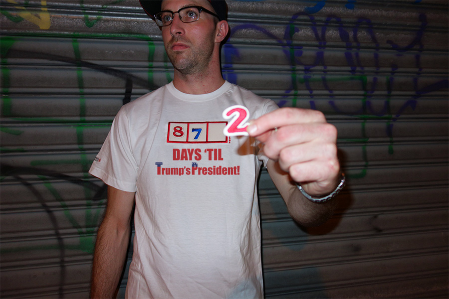 Trump Countdown T-shirt