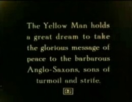 Intertitle-The Yellow Man's dream of peace