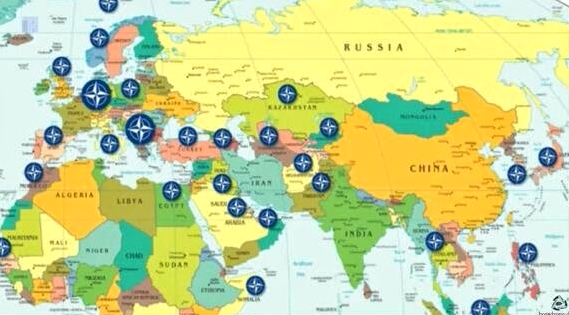 Russia Surrounded by NATO