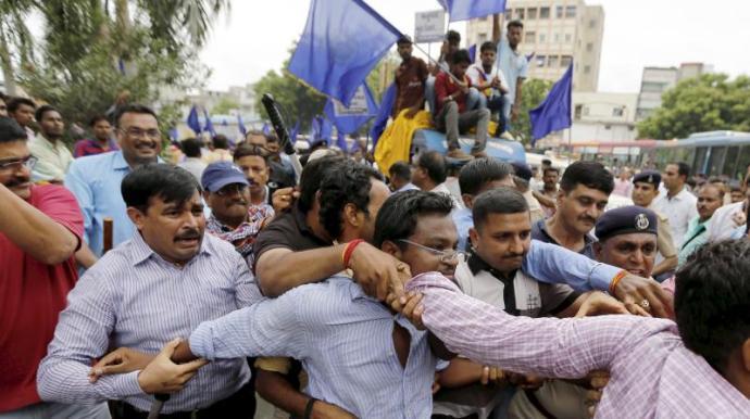 dalit-protest-gujarat