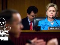 Clinton Backs Monsanto's Case That To Be Anti MonsantoIs To Be Pro Global-Warming