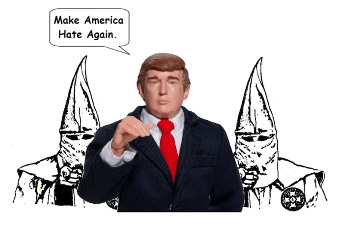The Klan Backs Trump. By Mike Licht. Flickr (CC BY 2.0)
