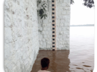 Narmada Water Rising In Feet And Meters