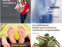 The posters released by the Italian government for Fertility Day. Photo via Facebook