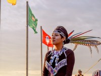 Mia Sage Stevens traveled to Standing Rock in September. Photo by Rob Wilson Photography.