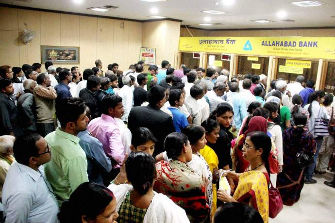 demonetisation-queue
