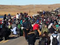 On The Knife-Edge of Western Globalization: A Stint At Standing Rock