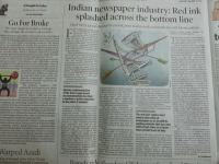 TOI Editorial On Indian Newspaper Industry Smells Like Match-Fixing