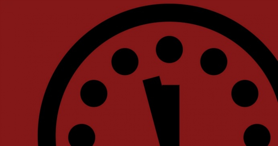 Doomsday Clock Tick-Tocks Closer to Midnight, Sparking Concern Among Scientists