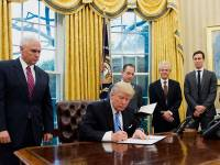 Trump Uses Executive Orders To Impose Hiring And Regulatory Freezes