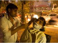 Photo Essay: Earning, One Cut At A Time, Street Barbers Of Delhi