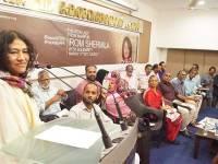 Irom Sharmila Gets Warm Welcome In Kerala