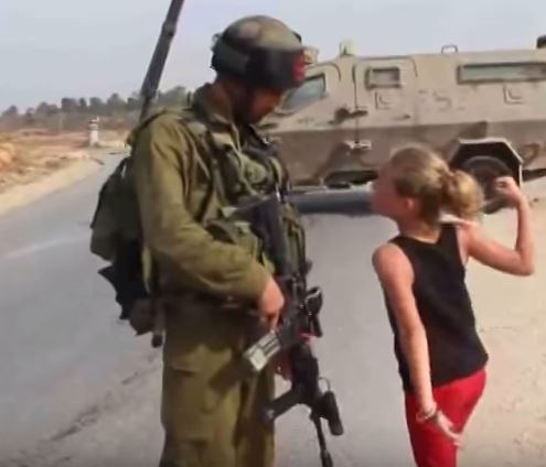 tamimi raised fist