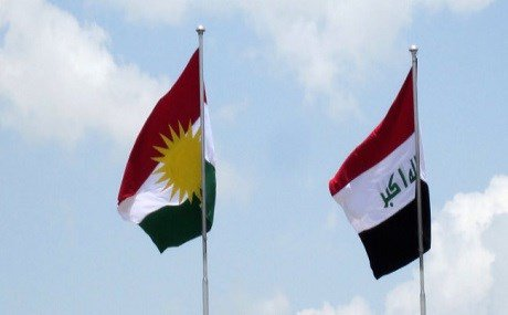 Iraq Kurdistan Regional Government flag