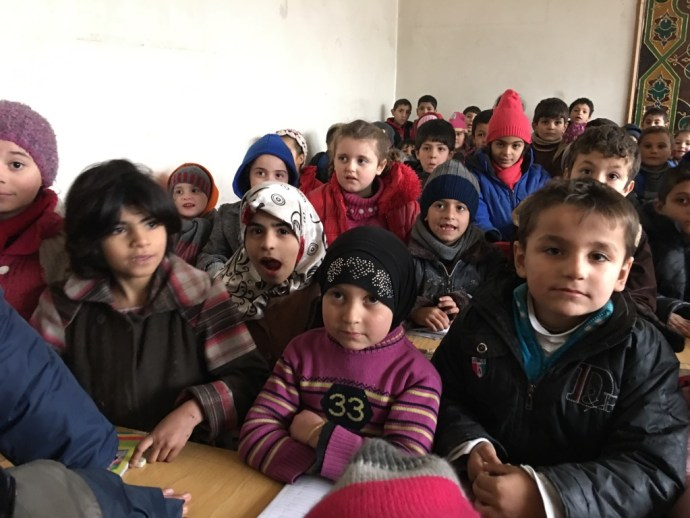 Learning in besieged Aleppo