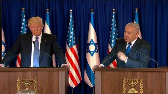 trump-israel