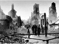 Coventry, after the air raid of 14 November 1940