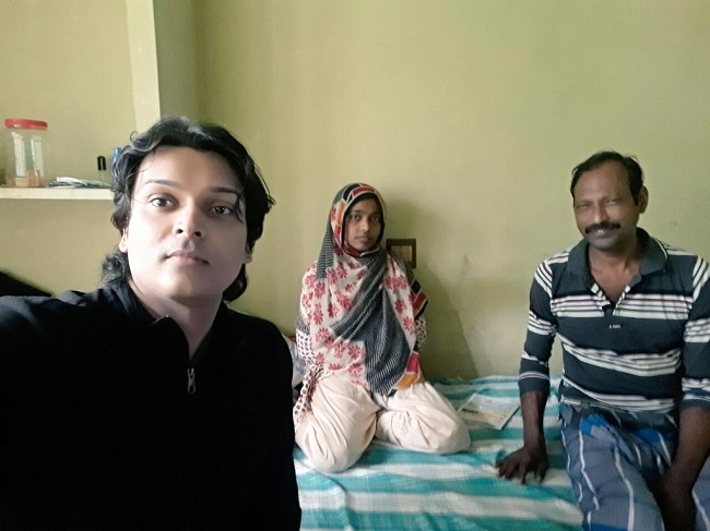Rahul Easwar's selfie with Dr Hadiya
