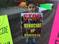 South Asians Hold Rally For Rohingyas In Surrey