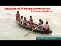 Boat capsize kills 60 Rohingya