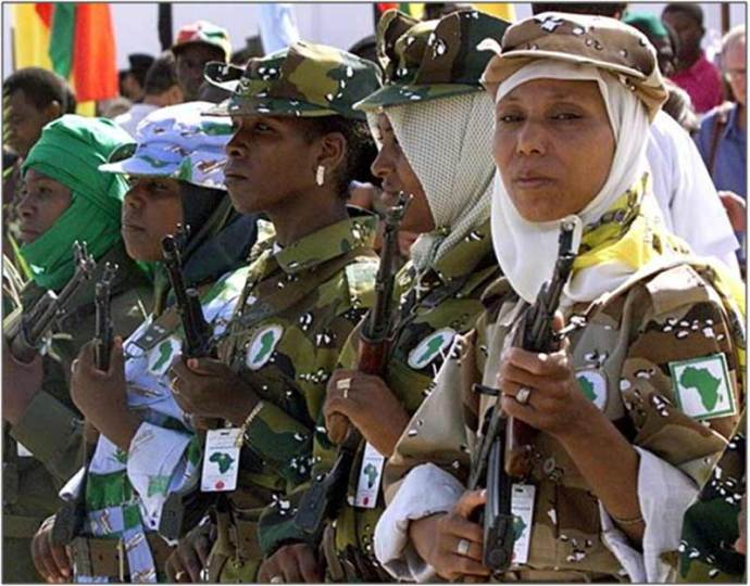 The Libyan people were an armed people and Qaddafi often moved among them with minimal security only present to control the crowds that wanted to greet him and shake his hand. Repressive dictators do not arm their people.