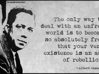 Reviving The Spirit Of Existential Rebellion InA World Of Propaganda, Lies, And Self Deception