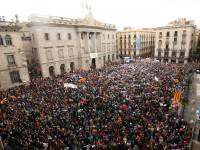 Tens of Thousands Protest in Catalonia Against Moves Towards Authoritarian Rule in Spain