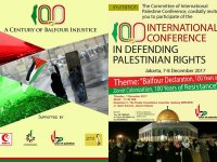 "International Conference ""In Defending Palestinian Rights"" –  Jakarta Declaration"