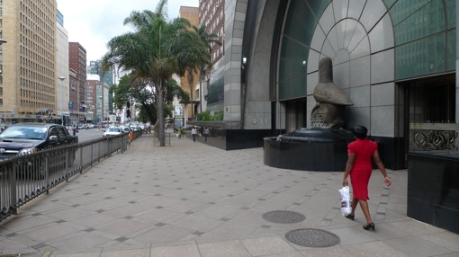 Downtown Harare, worst city on earth?