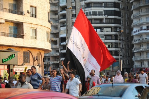 Muslim Brotherhood in Alexandria - and they go!