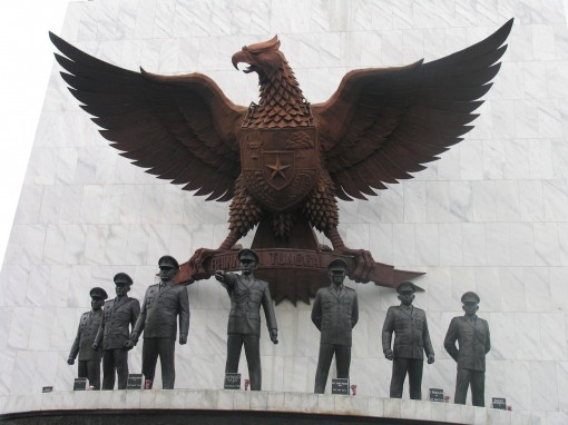 Indonesian fascist art