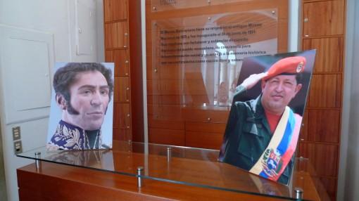 Bolivar and Chavez