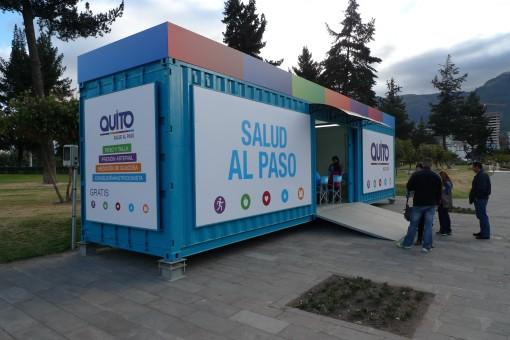 public free medical posts all over Ecuador