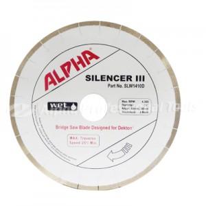 alpha tools Dekton bridgesaw blade - Silencer III