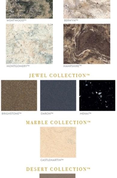 cambria new quartz colors