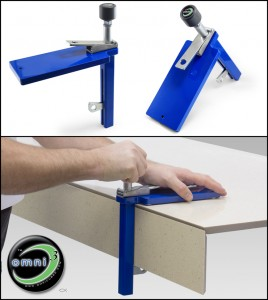 Miter It up lamination clamp from Omni Cubed