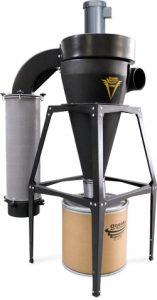 3HP V-3000 HEPA Dust Collector 35 Gal Freestand