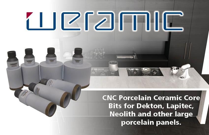 Weha Offers Weramic CNC Porcelain Ceramic Core Bits