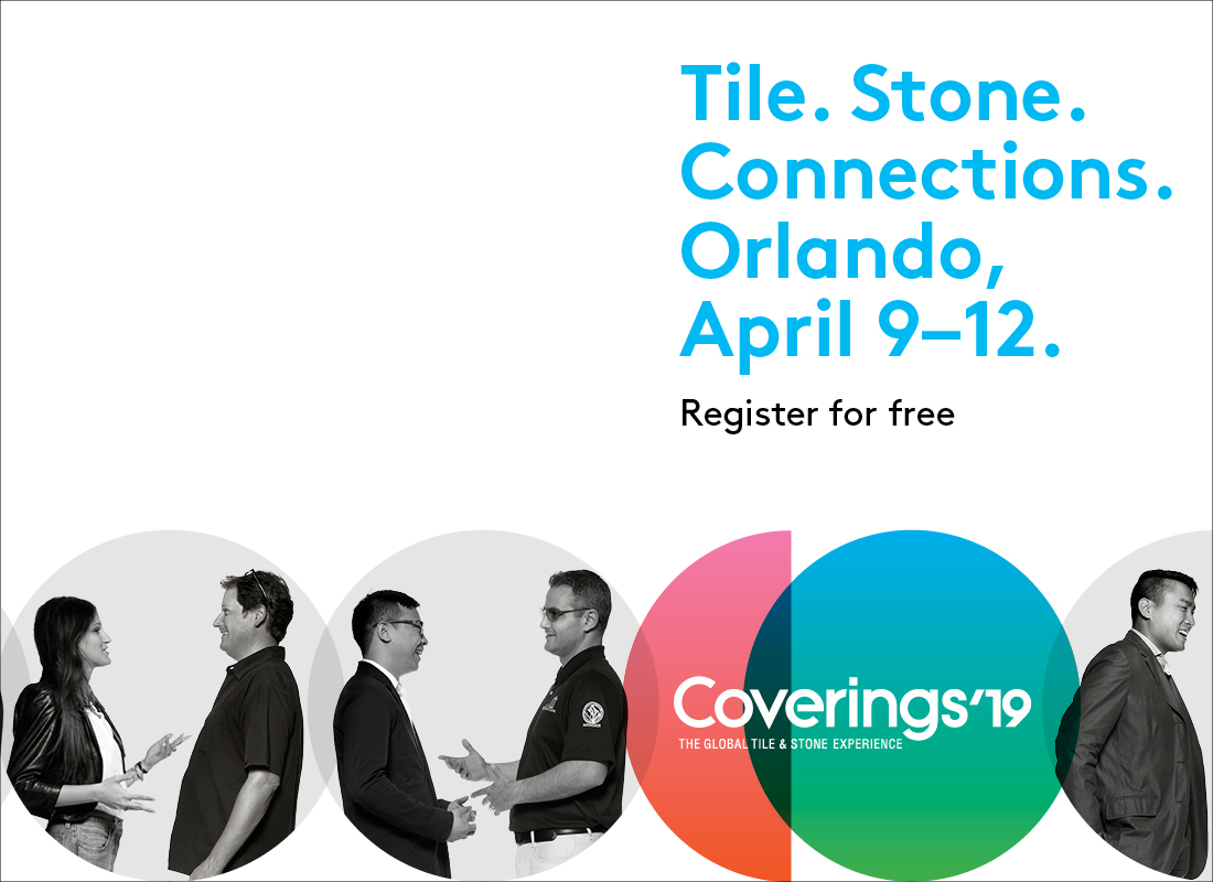 Coverings Announces Charitable Initiatives at the 2019 Show