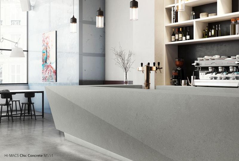 LG Hausys Introduces Concrete Collection